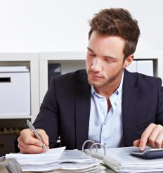 An accountant records and reports a company's financial information.