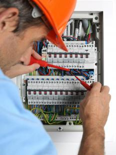 Electricians can perform grounding tests on circuits.