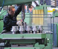 Workers in a manufacturing plant are usually overseen by a production manager.