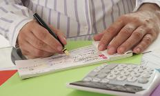 Some bank accounts offer interest free overdraft protection.