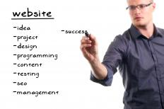 Web developers might plan and design sites upfront or help maintain and manage sites once they're up and running.