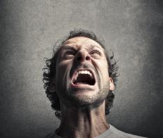 Injury to a person's perception of themself often leads to outbursts of rage.