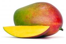 Originating in Southeast Asia, the mango has more than 100 different varieties.