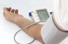 Atenolol may be used to treat high blood pressure.