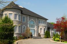 A mansion is typically a large home with various recreational and luxury amenities.