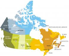 Canada uses a harmonized sales tax system.