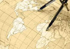 Students are taught the subject of geography in school.