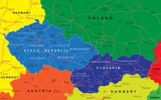 The countries of Poland, Czech Republic, Slovakia, and many others were on the eastern side of the Iron Curtain.