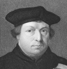 "Martin Luther used the word ""evangelische"" to distinguish Protestants from Catholics."