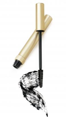 Hair mascara can be used to touch up roots.