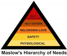 "Maslow's ""Hierarchy of Needs"" is a part of expectancy theory."