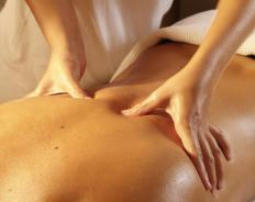 Orthopedic massages are most common on the back, neck and shoulders although they can be used on any soft tissue.
