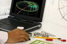 A human factors engineer will often use a computer aided design (CAD) software program.