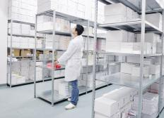 Businesses use storage facilities for merchandise and archived records.