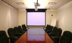 A boardroom is a conference or meeting room where a company's board of directors meet.