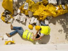 Risk management professionals handle personnel safety and workers' compensation.