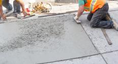 Many concrete paving flags are widely available, versatile, convenient, durable, and relatively inexpensive.