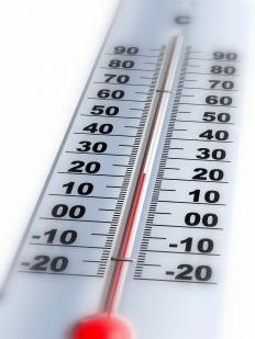 Thermometers measure absolute temperature.