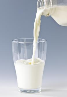 Raw milk is made from unpasteurized milk, which can cause stomach illness.