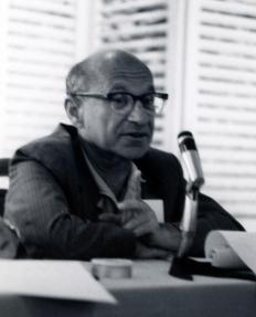 20th Century economist Milton Friedman was a proponent of the economic theory of the permanent income hypothesis.