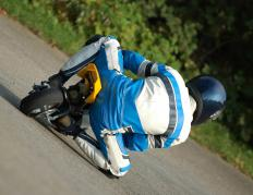 Mini bike kits can be used for racing or recreation.