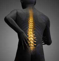 Ulnar nerve pain may be caused by spinal injuries.