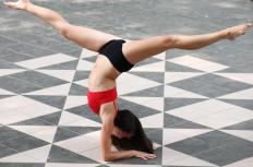 Gymnasts typically have better muscle tone and less fat than non-participants.
