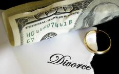 Alimony involves one partner paying another upon divorce.