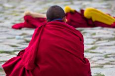 One of the most popular forms of meditation art was created by Tibetan Buddhist monks.
