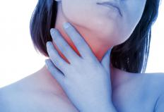 Swelling of the throat is a symptom of quinsy.