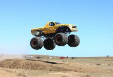 Monster truck rallies are held in Jacksonville.