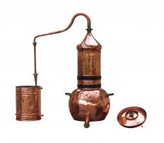 Moonshiners might be forced to make quick turns to avoid police looking for the illegal alcohol they make with stills.