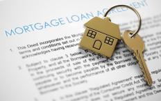 When a mortgage becomes in default, the holder of the note can take ownership of the property.