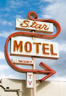 A motel can be a good choice for those on a road trip.