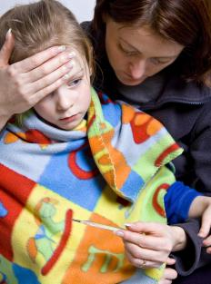 Day care providers often have guidelines for parents when children are sick.