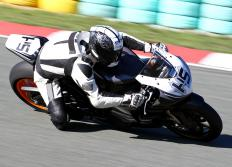 Racing bikes often include fairings.