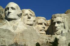 Mount Rushmore is a national monument that is public land.