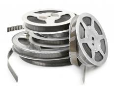 A film reel is made up of hundreds of individual pictures that include no movement.