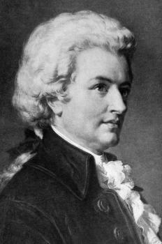 Mozart employed polytonality for comic effect.