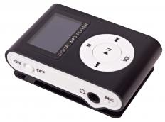 A speaker dock is primary used to charge and play music on a portable audio device like an MP3 player.