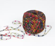 Ladder yarn can be considered novelty yarn.