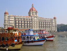 Mumbai, India, is the home of the Bollywood film industry.