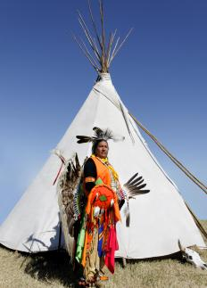 "The Lakota language added the word ""tepee"" to the American vocabulary."