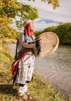 In various indigenous religions, a shaman is a figure who is in contact with the spirit realm.