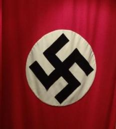 The Nazi Party used a swastika as its symbol.