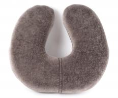 Using a foam neck pillow can alleviate neck stress and discomfort from sleeping in a strange position.