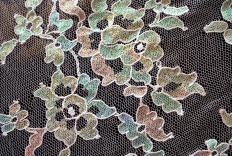 There are hundreds of different types of lace.