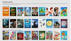 Some of the family movies available to stream from Netflix.