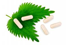 Nettle extract is available in supplement form.