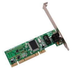 A network interface card, which is used to connect to a home network.